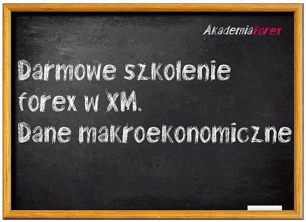 dane makroekonomiczne XM
