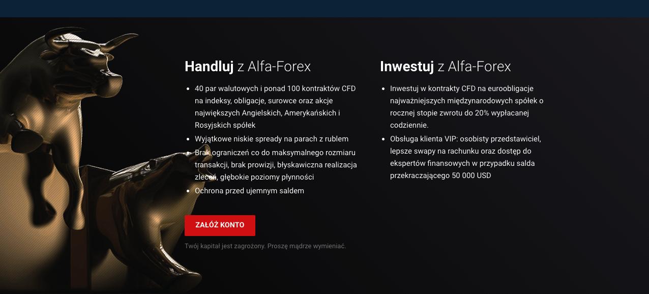 alpha forex opinie o brokerze