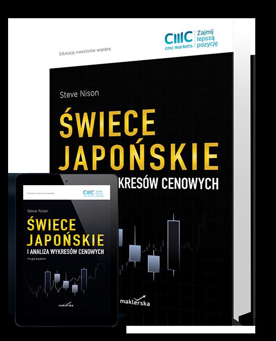 książka Świece japońskie i analiza wykresów cenowych - Steve Nison