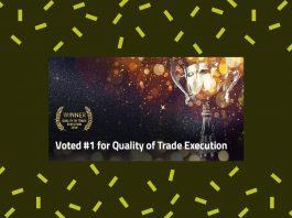 "FP Markets z tytułem ""Quality of Trade Execution 2019"""
