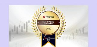Tickmill nagroda