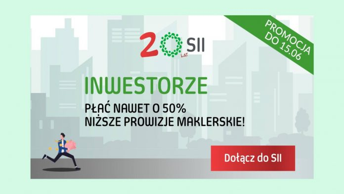 SII - promocja z okazji 20 lat działalności